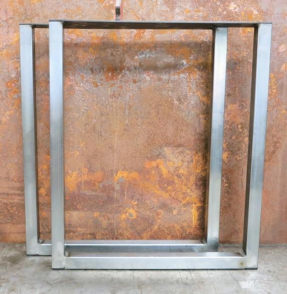 U Shape Metal Table legs (set of 2)