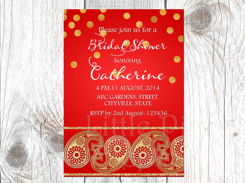 Bollywood invitation-Bollywood invites-Indian