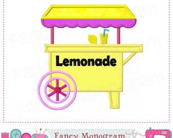Lemonade Stand applique,Lemonade embroidery,Lemonade design,Lemonade,Lemonade Stand.-05