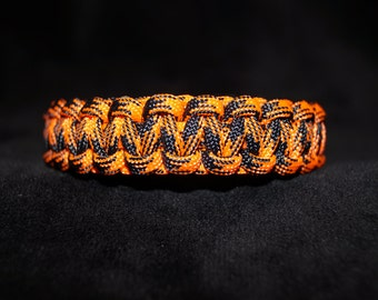 Paracord Bracelet Color is Eye Candy - Neon Orange