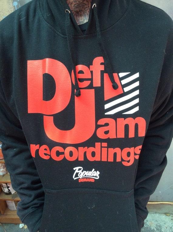 Def jam hoodie