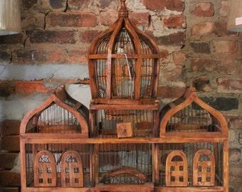 Vintage birdcage large