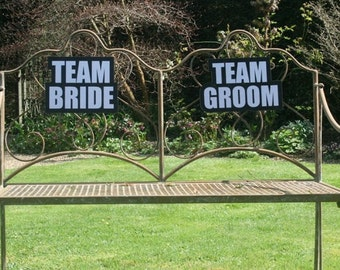 TEAM GROOM Wedding Photo Booth Sign 013-408