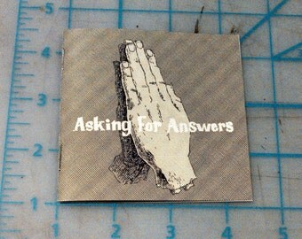 Asking for Answers - zine