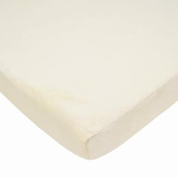 chenille porta crib sheet portable mattress minky maize