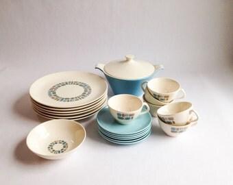 Vintage dinnerware set of 6 - Duragloss
