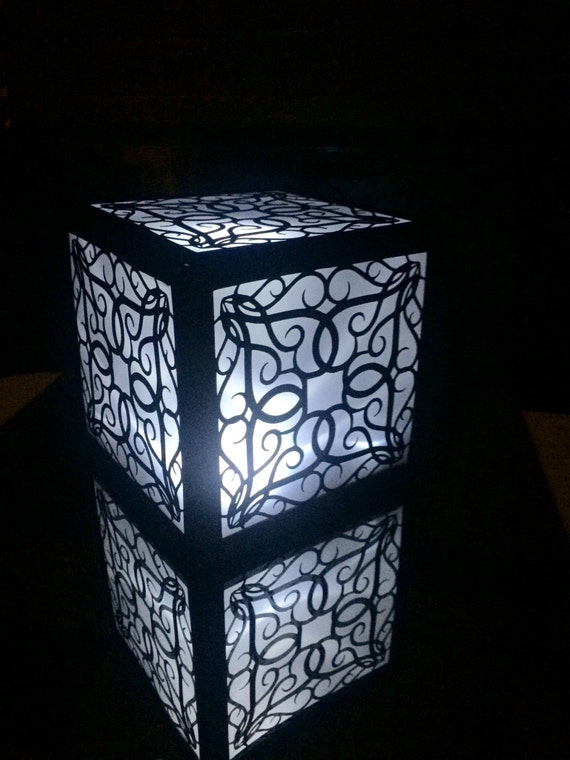 Garden wedding lantern luminary romantic by shimmeringceremony