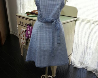 Women's Wizard of Oz inspired Dorothy apron