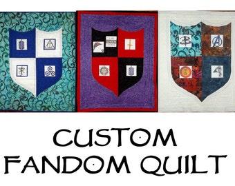 Custom Fandom Quilt