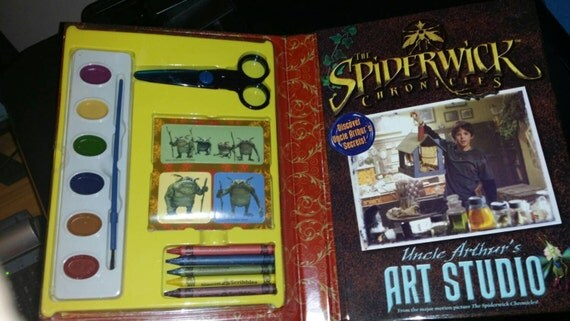 spiderwick chronicles coloring pages - spiderwick chronicles uncle arthur 39 s art studio art