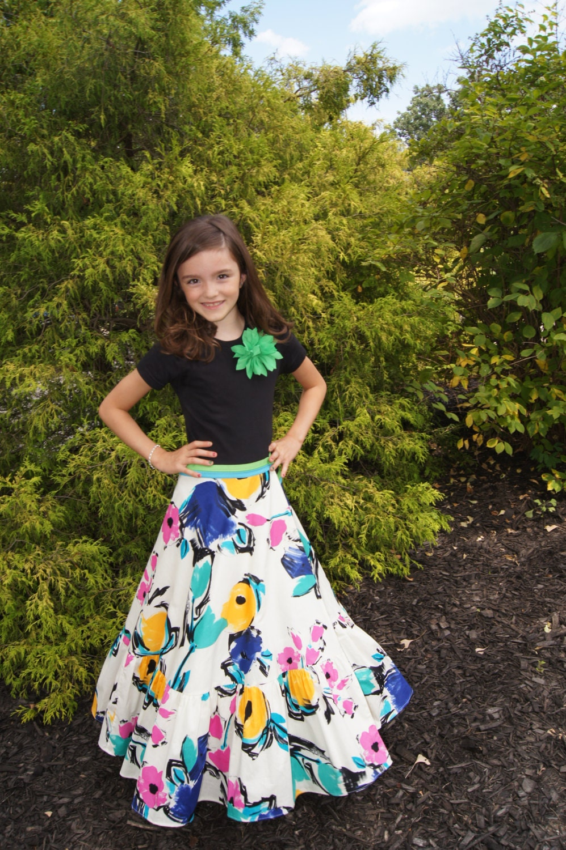 Maxi girl dresses