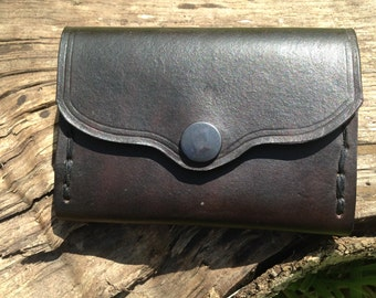 hand-made leather wallet