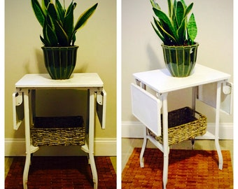 SOLD! Industrial side table