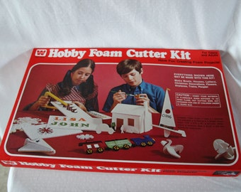 1970s Hobby Foam Cutter Kit