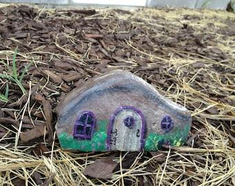 Fairy house / Pixie House / Hobbit House / Painted Rock