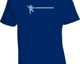 Mega Man Retro Video Game T Shirt
