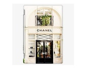 iPad Cover - iPad Air - iPad Mini - iPad 2 3 4  - Fine Art Photo of Chanel Shop in Paris iPad Cover - Chanel Storefront - Paris iPad Cover