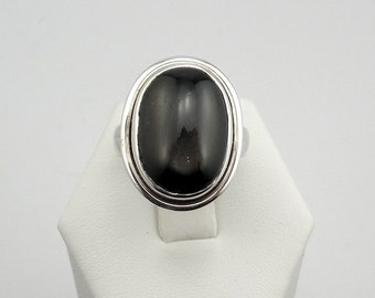 Beautiful Star Sillimanite Sterling Silver Ring #SILLISTAR-SR1