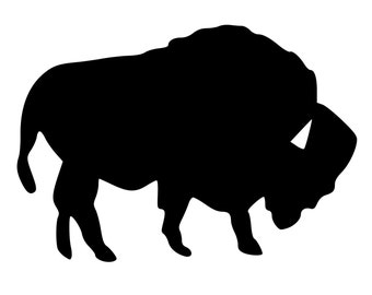 Buffalo Die-Cut Decal Car Window Wall Bumper Phone Laptop