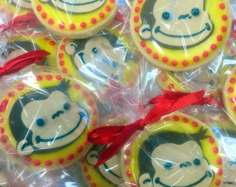 Curious George Decorated Sugar Cookies
