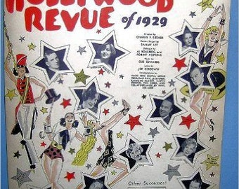 Singin' In The Rain from Metro-Goldwyn-Mayer's Hollywood Revue of 1929 Sheet music – 1929