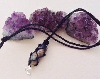 Sodalite Crystal Necklace