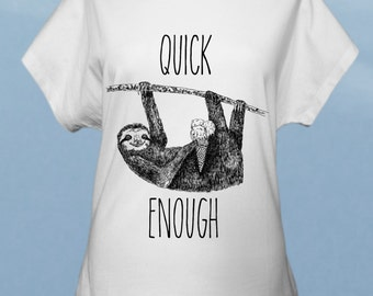 Sloth - women t-shirt
