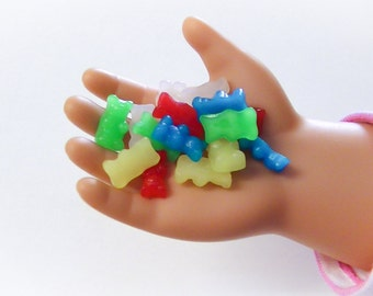 15 Pcs. AG Doll Size Bear Candy with Container, *Free Shipping, A-21