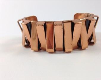 Renoir Coppe Dimensional Cuff Bracelet for larger Wrist