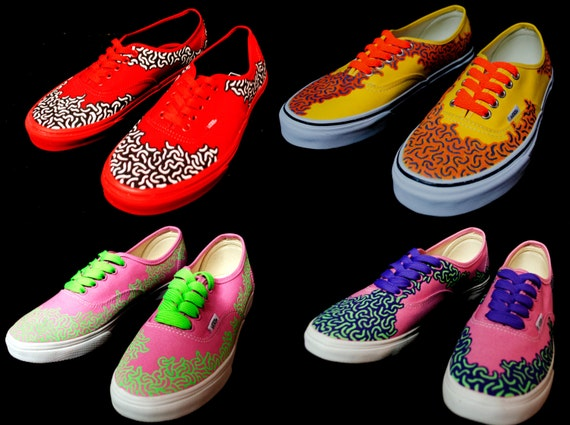 Vans Authentic Custom Custom Vans Aut...