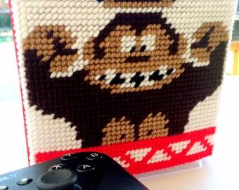 Donkey Kong Napkin Holder Plastic Canvas Pattern