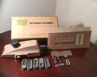 Vintage Sears Buttonhole Attachment