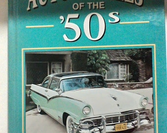2 Book set for the lover of cars from the 50s and 60s