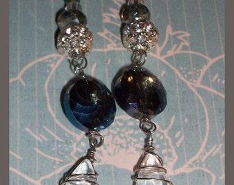 German Glass Earrings