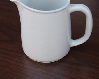 Vintage White Milk Jug