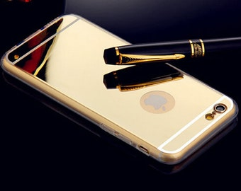 Iphone 6 Mirror Case - Electroplating luxury mirror cover for your cell phone