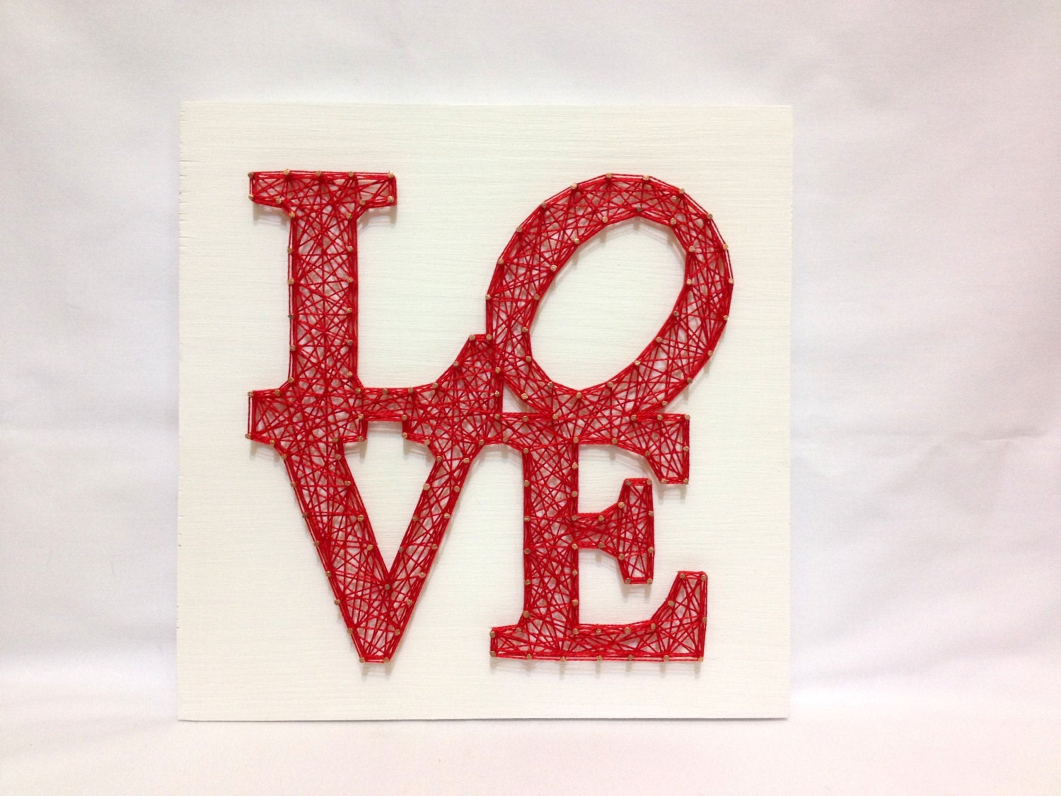 String art love wall art love sign home decor wall decor for Love sign