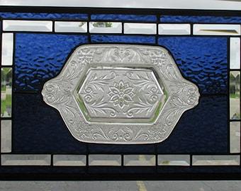 027--panel--vintage plate