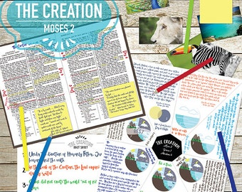 Old Testament Moses 2 (The Creation) Study and Teaching Helps