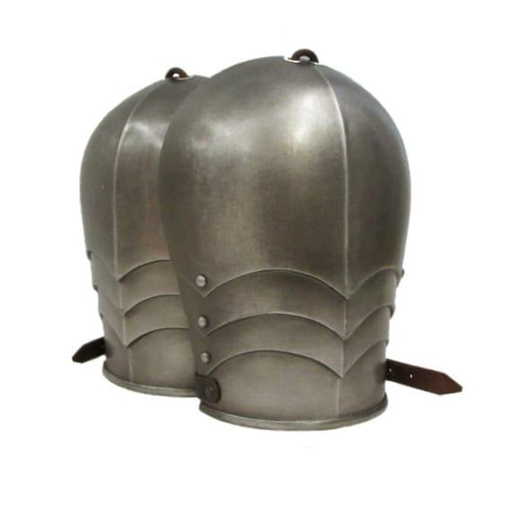 Larp Armor, One-piece shoulders, pauldrons,  SCA, larp, cosplay, larp armour, medieval, cosplay armor, medieval armor, skyrim, tes