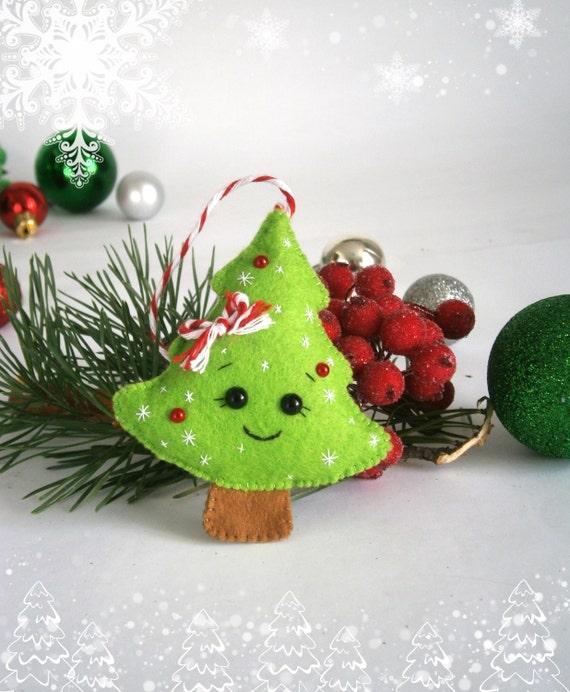 Christmas Ornaments Felt Christmas Ornament Decor By