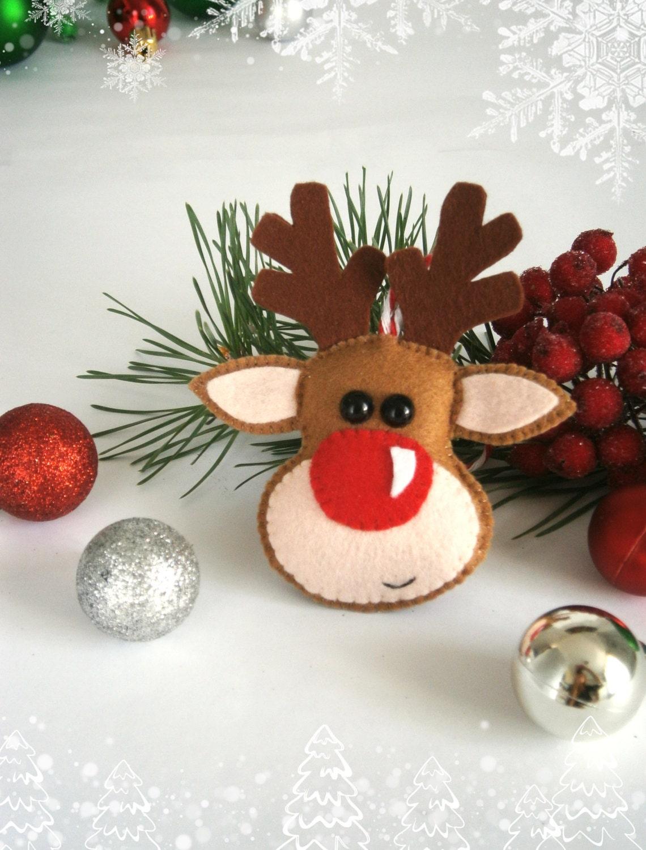Christmas ornament felt ornaments Christmas felt by ...