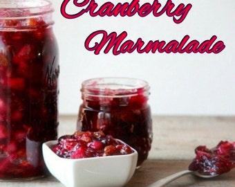 Cranberry Marmalade Candle Fragrance Oil ~ 1oz Bottle