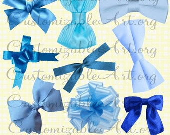Blue Bow Clipart Digital Baby Blue Light Blue Bow Tie Ribbon Clip Art Bright Blue Gift Bow Baby Blue Baby Shower Images Navy Blue Graphics