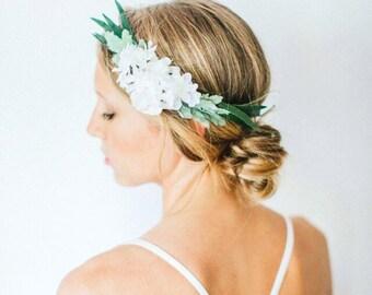 Leafy Simple Flower Crown