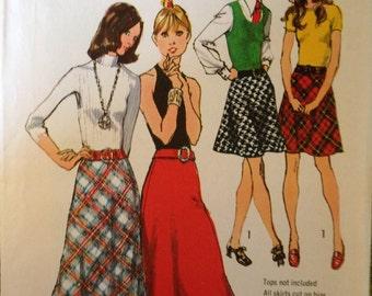 Vintage Pattern - 70's Skirt