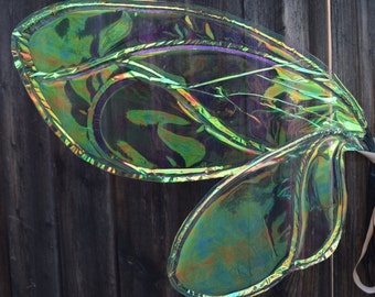 Small Iridescent Flutterfly Fairy Wings