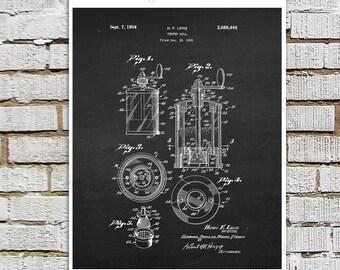 Mid Century Vintage Kitchen Art Pepper Mill Patent print #3, Chalkboard art, Kitchen wall art, Kitchen Decor, Black & White Wall Decor