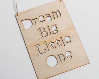 Laser Cut Signs for Baby's Nursery