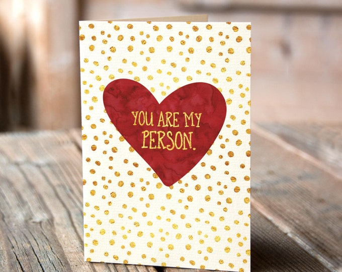 Valentine 39 s day cards etsy for Valentines day card ideas for him